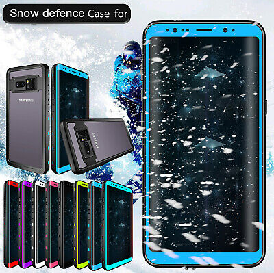 Waterproof Shockproof Armor Clear Phone Case Cover For Samsung Galaxy S9/Note 8