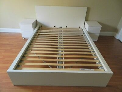 White Ikea Malm Bed Frame King Pick Up Only