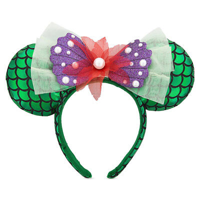 Disney Parks Ariel Ear Headband - The Little Mermaid - Minnie Ears