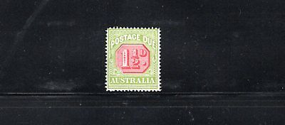 Australia 1925 1½d Postage Due wmk Crown over A SG D93 MUH