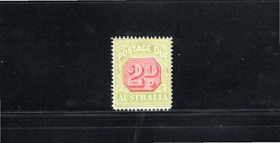 Australia 1922 2d Postage Due wmk Crown over A SG D94 MH