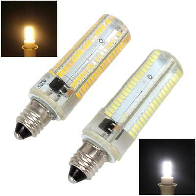 10W Dimmable E11 White / Warm White 152 LEDs 3014 SMD Corn Bulb Silicone Lamp
