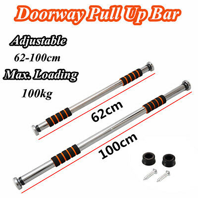 Home Doorway Chin Up Bar Push Pull Up Training Body Exercise Fitness Portable UK