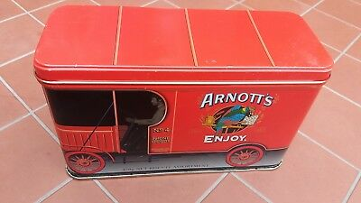 Arnotts  Biscuit Tin  Red Truck