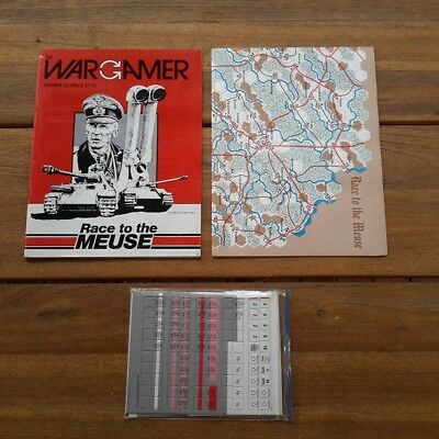 Race to the Meuse WW2 The Wargamer Magazine & unpunched boardgame