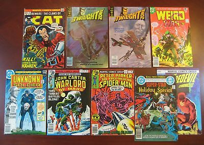 History of Frank Miller comic lot - Twilight Zone 84 85 Peter Parker 27 more
