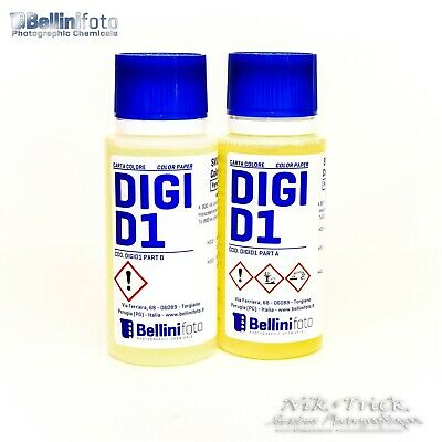 Bellini Foto's RA4 Developer Only ~ Parts A+B to Make ONE Litre