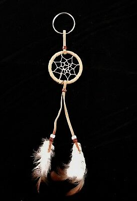 Native American Authentic Dream Small Catcher Wall, Window, Car Decor Keychain
