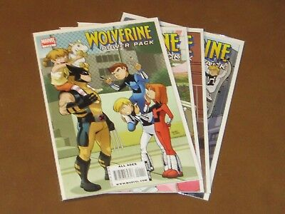 Wolverine Power Pack #1 - 4 Vf Complete Series Great All Ages Collection Xavier