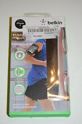BELKIN Sport-Fit Plus ARMBAND, For iPHONE 7 Carnation