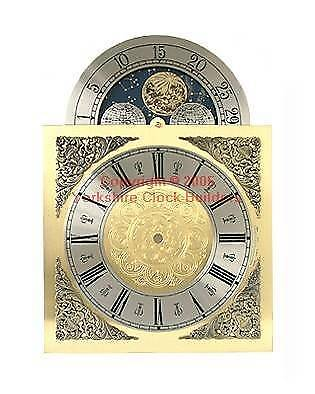Grandfather clock dial 250mm x 250mm x 352mm suitable for Hermle 451  FREE P&P