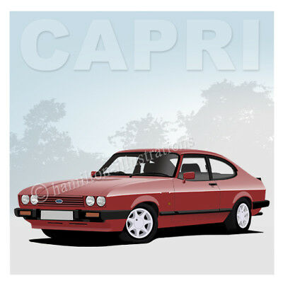 Ford Cortina Mk3 GT GXL 2000E Novelty Drinks Coaster Birthday Gift WIFE