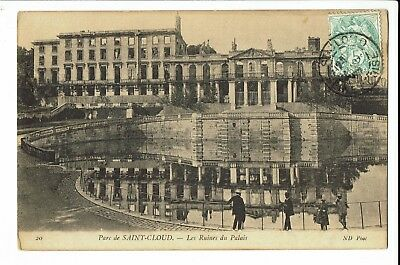 CPA - Carte postale - FRANCE - Saint-Cloud ,Les Ruines du Palais- S207