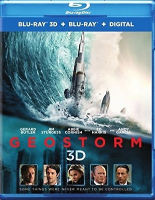 PB SCIENCE FICTION-GEOSTORM (BLU-RAY/3D BLU-RAY/NON-RET (US IMPORT)  Blu-Ray NEW