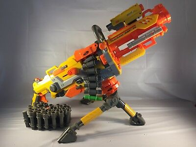 Nerf Vulcan EBF-25 Fully Automatic Machine Gun Blaster With Lighted Sight