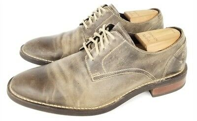 Cole Haan Derby Distressed C11852 Mens size  9 M US leather brown light brown