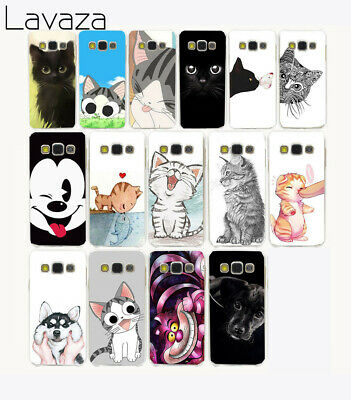 For Samsung Galaxy Cases A5 2016 2017 2018 animal back Soft TPU cover case Cat