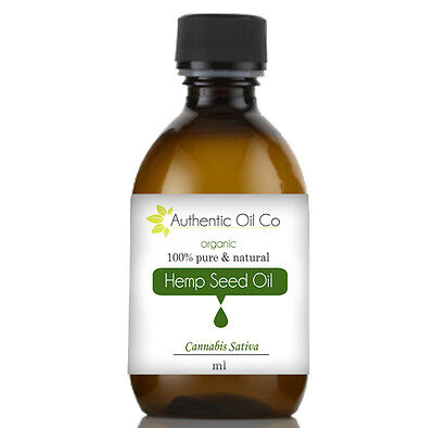 Organic Hemp Hempseed Carrier Oil Skin Care Cold Pressed Massage Aromatherapy UK