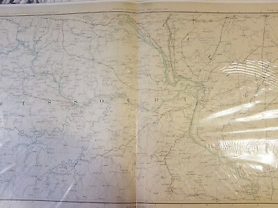 5 Civil War Maps, Union, Confederate, Kansas- Missouri- Illinois