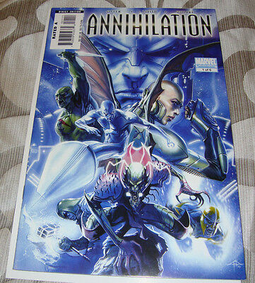 Annihilation #1 (2006) Marvel, VF/NM, Silver Surfer, Super-Skrull, Ronan, Nova