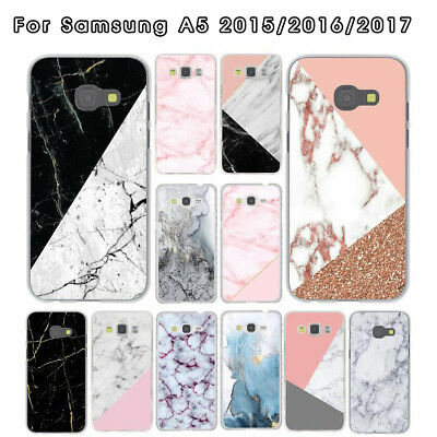 For Samsung Galaxy A5 2015 2016 2017 marble Pattern phone case cover Shockproof