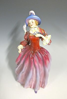 "Rare Royal Doulton - HN1837 Mariquita  8 1/8"" High Only this one on E-bay (#640)"