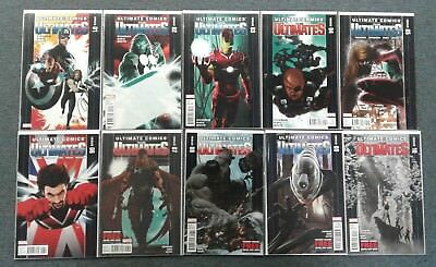 The ULTIMATES #1-20 Set! #1 & 9 Signed by Top Writer Jonathan Hickman! Marvel!