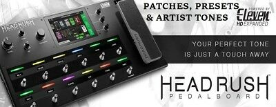 Headrush Pedalboard Presets, Patches, Settings, Artist Tones