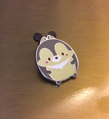 Hong Kong Disney HKDL EXCLUSIVE Ufufy Collection Pin - Chip (Chip & Dale)