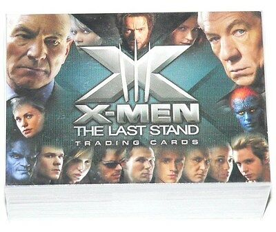 X-Men 3 the Movie - The Last Stand - 72 card base set by Rittenhouse in 2006