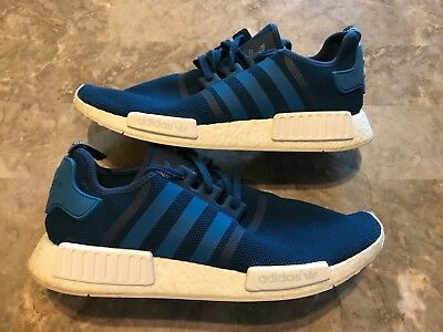 d4e390e57 2016 Men s Adidas NMD R1 Running Shoes Unity Blue Boost Size 14 RARE S31502