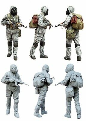█ 1/35 Resin Full Armed Stalker Zombie War Unpainted BL112