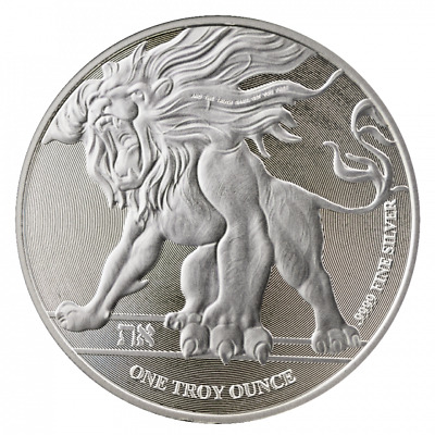 2018 Niue 'Roaring Lion of Judah'  BU Silver 1 Oz Coin | Direct From MINT Tube