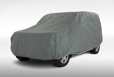 Audi Q3 (8U) 2011-ON Quality Heavy Duty Fully Waterproof Car Cover Cotton Lined
