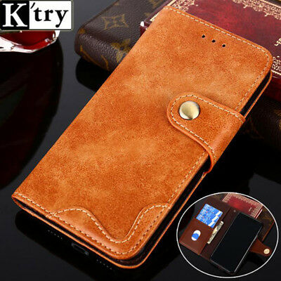 New Rivet Flip Style Leather Wallet Phone Bag Business Case For Xiaomi Redmi