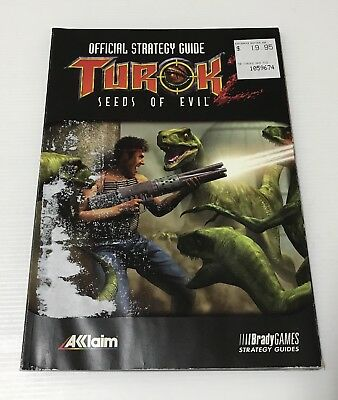 Turok Seeds Of Evil - Official Strategy Guide - Nintendo 64 / N64