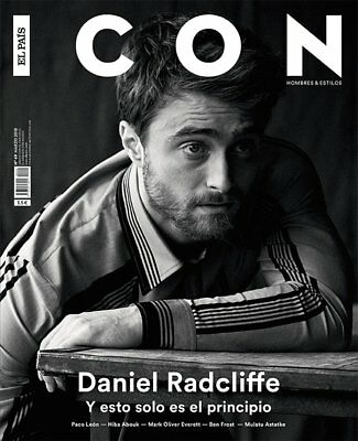 ★ MAGAZINE ICON EL PAIS MARCH 2018 - With Daniel Radcliffe on cover - NEW NUEVO