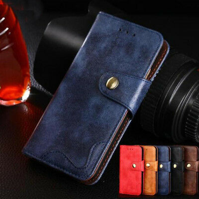 Retro Rivet Wallet Leather Case Flip Cover For Cubot R11 X18 H3 J3Pro Nova Power