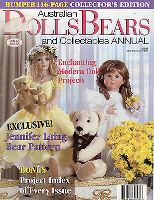 Australian Dolls Bears & Collectables Annual Vol 6 #4 Issue 34 1999 Patterns inc