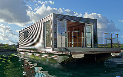 Floating Home , Hausboot , Schwimmponton Rohling NEU!