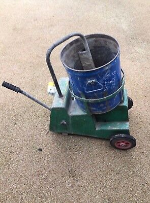 Spe Mix It 25L Mixit Mortar Screed Cement Resin Forced Action Mixer 110V
