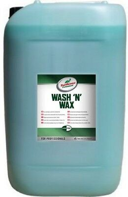 Brand New Turtle wax Professional Wash n Wax Car Shampoo - 25 Litres