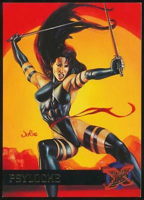 1995 X-Men Ultra Trading Card #38 Psylocke