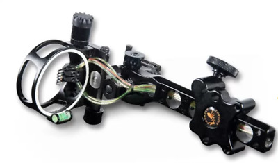 Topoint Ultimate Archery Compound Bow Sight Micro And Tool Less Adjust