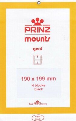 Prinz Stamp Mounts 190x199 Black For Legends of the West Civil War Comics Jazz