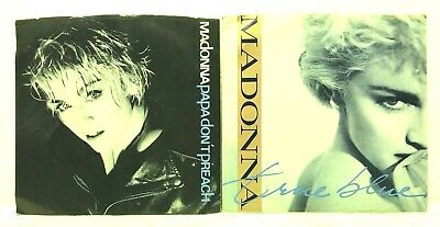 "Madonna Lot 7"" 45 rpm Vinyl Record Jukebox Singles True Blue Papa Don't Preach"