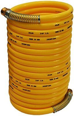 "DIXON CC3850 3/8"" x 50' Coil-Chief Self-Storing Hose with 3/8"" NPT Fittings"