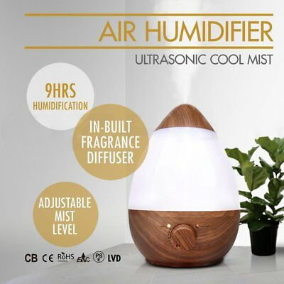 Aroma Diffuser LED Essential Oil Ultrasonic Air Humidifier Aromatherapy WB
