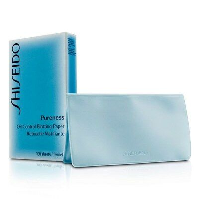 SHISEIDO Pureness Oil-Control Blotting Papers 100 Sheets Face Skin Care AU Stock