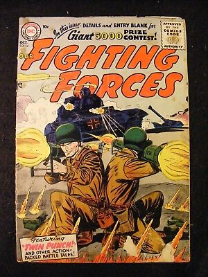 Our Fighting Forces #14 (October 1956, DC) Silver Age Comic Book